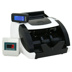 New Money Bill Cash Counter Bank Machine Count Currency Usd Digital Uv Mg Ir