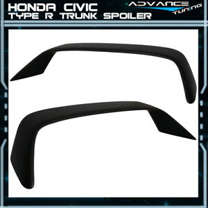 96 08 Honda Civic Si Coupe 2dr Em Fg Type R Rear Trunk Spoiler Wing Abs