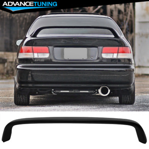 96 00 Honda Civic Coupe 2dr Em2 Type r Rear Trunk Spoiler Wing Abs