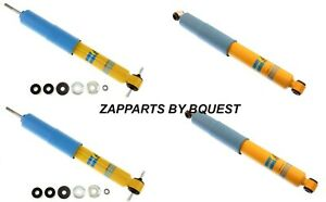 Toyota Tacoma 2 Wd Bilstein Performance B 4600 Series Front And Rear Shock Set