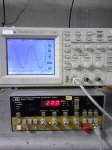 Hp8111a 20mhz Pulse function Generator Tested 5ns Rise Time