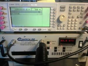 Power Amplifier 1000 To 2000 Mhz 30wt 45db Gain Tested L Band Gpib I o Ard1929