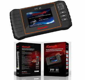 Icarsoft Ft Ii For Fiat Alpha Romeo Obd2 Code Reset Diagnostic Scanner Tool