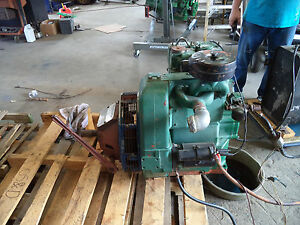 Lister Diesel Engine Model St2 With Rockford Pto Great Running Engine
