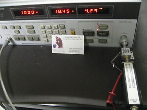 Hp8970a Anritsu N346b Meter Noise Source Works Enr Excess Noise Ratio Set