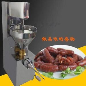 Electric Commercial Automatic Pressure Sausage Stuffer Stainless Steel