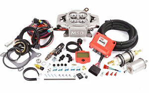Msd Atomic Efi Fuel Injection System Complete Master Kit W Fuel Pump 2900