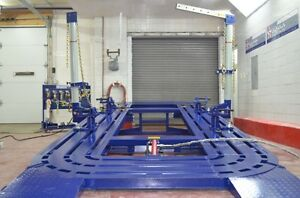 20 Feet Long Auto Body Shop Frame Machine With Free 2d Measuring