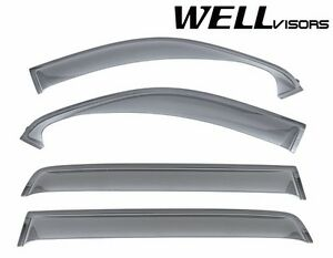 For 07 Up Toyota Tundra Crew Max Wellvisors Side Window Visors Off Road Series