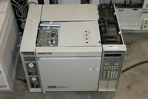 Hp 5890 Series Ii Gas Chromatograph