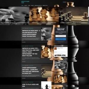 Chess Store Professionally Designed Affiliate Website For Sale Domain