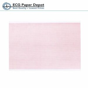 Ecg ekg Thermal Paper 8 5 X 183 Z fold Rolls 10 Pack For Quinton Instruments