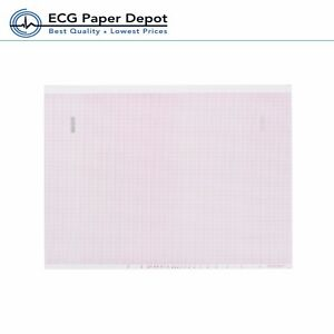 Ecg Ekg Thermal Paper Woks For Mortara Ecg Machines 216mm X 458mm Z fold 6 Pads