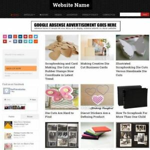 Established Scrapbooking Store Online Business Website For Sale Free Domain