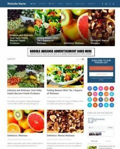 Healthcare Store Established Online Business Website For Sale Mobile Friendly