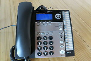 At t 1040 4 line Expandable Corded Small Business Telephone Att1040
