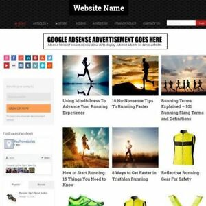 Running Store Established Online Business Website For Sale Mobile Friendly