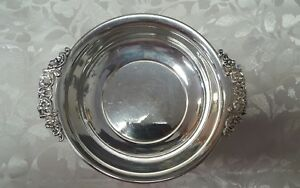 Vintage 925 Sterling Silver Poole Candy Bowl Dish 101