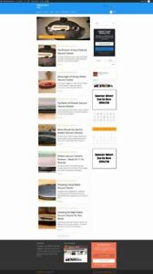 Vacuum Cleaner Store Business Website For Sale Mobile Friendly Responsive
