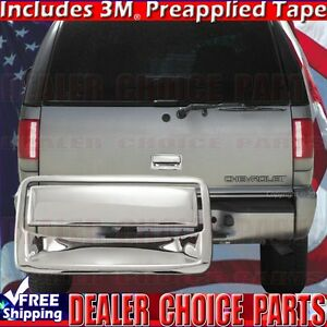 1998 2001 Chevy Blazer Abs Triple Chrome Tailgate Handle Cover