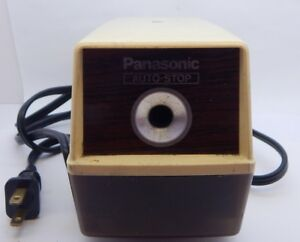Panasonic Kp 100 Electric Pencil Sharpener Working R14434