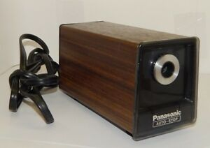 Panasonic Kp 77 Electric Pencil Sharpener Auto stop Working R14989