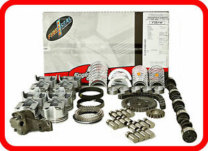 Sbc Chevrolet 327 5 4l V8 Master Engine Rebuild Kit W Stage 3 Hp Camshaft