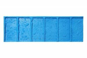 Worn Brick 4 Pc Concrete Stamp Set For Borders By Walttools