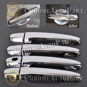 Fits 2001 2003 2004 2005 2006 2007 Toyota Highlander Chrome Door Handle Covers
