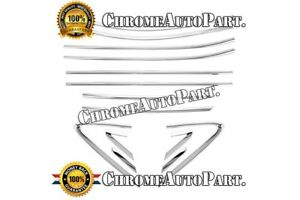 Fits 2010 2011 2012 2013 2014 Hyundai Tucson Chrome Window Frame Trims