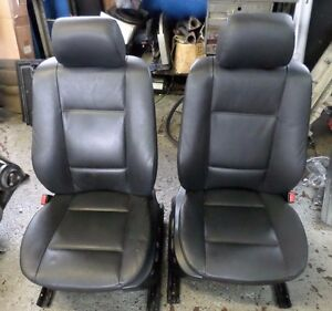 Bmw E53 X5 Front Seats Set Black Left Driver Right Passenger Pickup Only