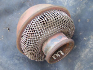 Vintage Ihc Farmall M Tractor Air Cleaner Top Screen 1941