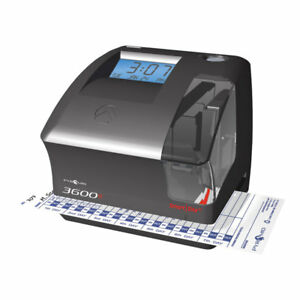 Pyramid 3600ss Smartsite Time Clock And Document Stamp