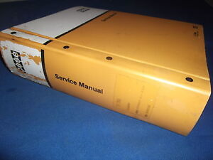 Case W36 Articulated Loader Service Shop Repair Manual S n 17754000 up