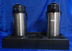 Coffee Airpot set Of 2 2 2l Coffee tea Airpot Lever top Triple Tray