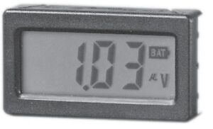 Model Mdmv Minature Display Module D c Voltmeter Lcd Positive Reflective Disp