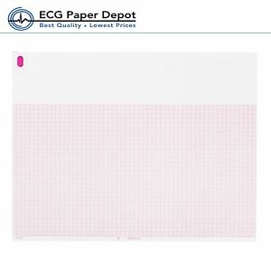 Ecg Ekg Thermal Paper 8 50 x11 Burdick 007868 Eclipse Compatible 10 Pack