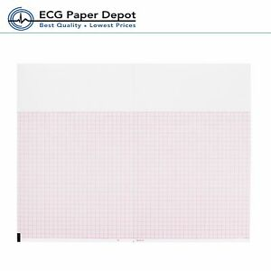 Ecg Ekg Thermal Paper 8 50 x5 5 Burdick 007989 Eclipse 850 Compatible 24 Packs