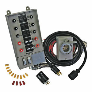 Reliance Controls 31410crk Portable 10 circuit Generator Transfer Switch Kit