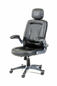 Orren Ellis Camron Modern Mid back Office Chair With Headrest