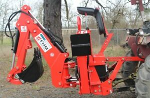 6 Dig Self Contained Tractor Backhoe 3 Point Fh bh6