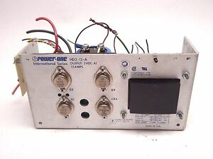 Power one Hd2 12 a International Series 2 Vdc Output 12a Power Supply