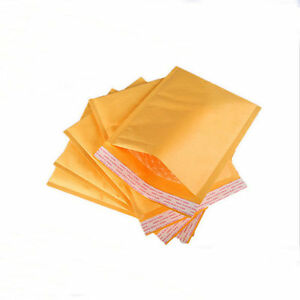 50 6 12 X 18 Kraft Bubble Mailers Padded Envelope Shipping 39 99 Wholesale
