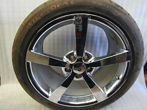 Chevrolet Corvette Rear Wheel Rim And Tire 9597341