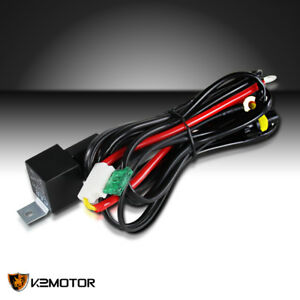 Hid Xenon Conversion Wiring Relay Harness Fuse H1 H11 9005 9006 Kit