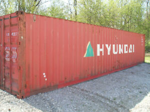 Storage Containers Used 40 Shipping Container