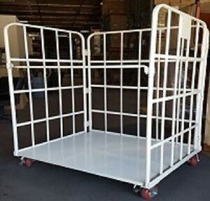 Utility Cart price Down folding Shelf With Commercial Wheels local Pick Up Only