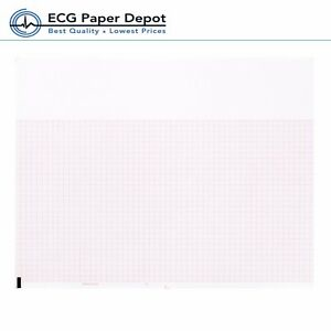 Burdick Compatible 007983 Medical Cardiology Recording Chart Paper 25 Packs
