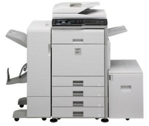 Mx 3100n Sharp Office Copier Color Duplex Automatic