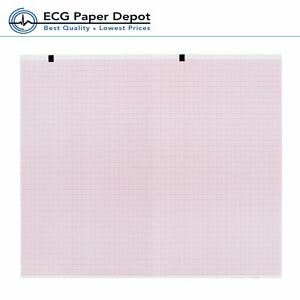 Schiller welch Allyn Ecg Recording Paper Ekg Printing Chart 2157 012a Red 10pack